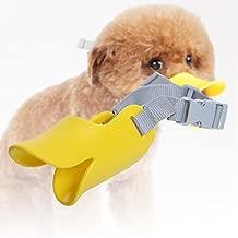 Jocestyle Pet Suppliers Funny Duckbill Anti-bite Masks Anti-Picking Dark Mouth Sets