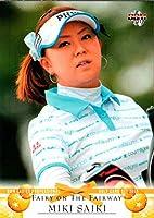 BBM2011 女子プロゴルフカードセット FAIRY ON THE FAIRWAY レギュラーカード No.9 佐伯三貴