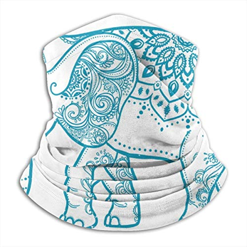 Mike-Shop Baby Elephant Pattern Hombres Mujeres Neck Polainas Tube