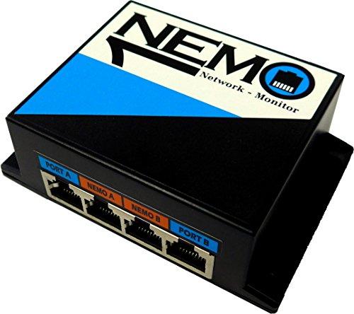 User-Hotline LAN Tap 10/100 Base-T Ethernet Netzwerk Nemo = Netzwerk Monitor