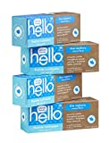 Hello Kids Blue Raspberry SLS Free Fluoride Toothpaste - for Children Age 2 and Up - 4.2 Ounce (Pack...