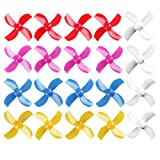 20pcs 31mm Propellers Prop CW CCW Sets Replacement Parts for FPV Racer Tiny 6,Tiny Whoop,Eachine E010,E010C,E010S,JJRC H36,Blade Inductrix FPV Drone Racing Quadcopter DIY