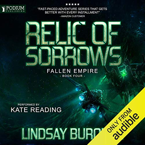Relic of Sorrows audiobook cover art