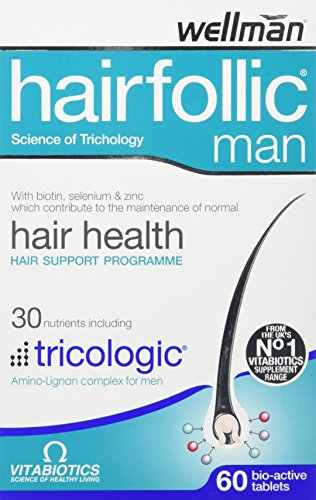 Vitabiotics Hairfollic Man - 60 Tablets