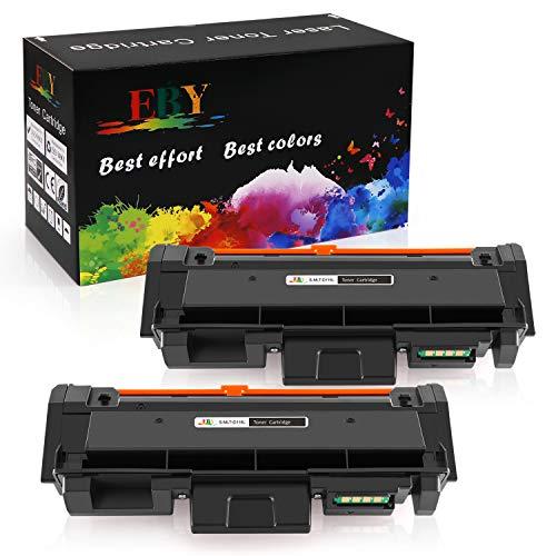 EBY Kompatibel Toner Patronen für Samsung D116L MLT-D116L für Samsung Xpress SL M2675 M2675fn M2835dw M2625d M2825nd M2825dw M2875fd M2885fw M2626 M2626d M2676 M2676n M2676fh (2 Schwarz)