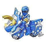 Playskool Heroes Power Rangers - Paquete de 2 Unidades, Ranger Azul y Ciclo Raptor, Figura y vehículo de 7,6 cm, Juguetes coleccionables para niños a Partir de 3 años