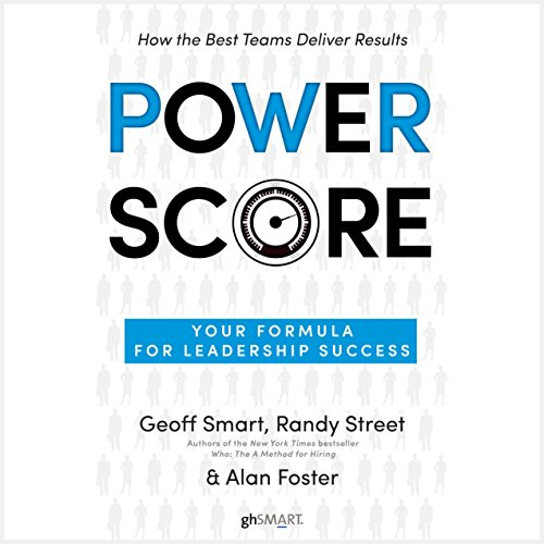 Power Score audiobook cover art