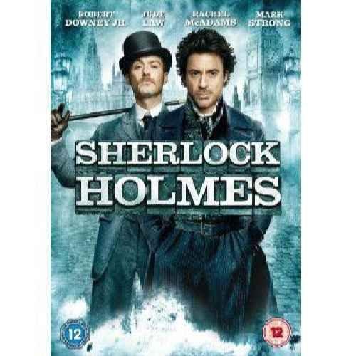 Sherlock Holmes - Robert Downey Jr. as Sherlock Holmes; Jude Law as Dr. John Watson; Rachel McAdams as Irene Adler; DVD