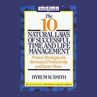 The 10 Natural Laws of Successful Time and Life Management audiobook cover art