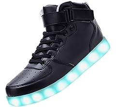 Amazon.com | Odema Unisex LED Shoes