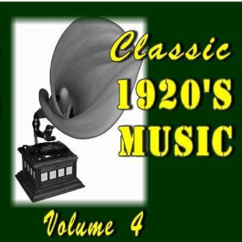 Classic 1920's Music, Vol. 4