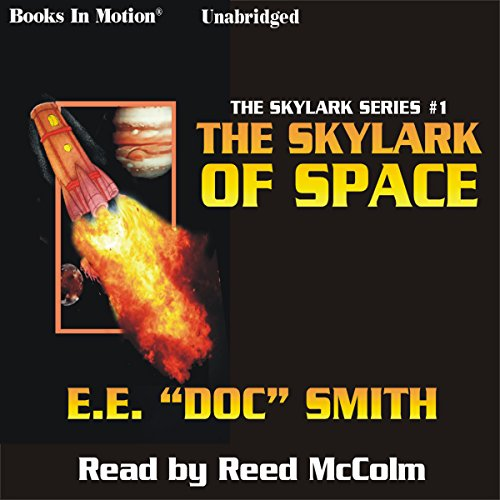 The Skylark of Space audiobook cover art