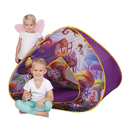John- Tente Pop-Up la Maison Fleurie des fées, 77024, Multicolore