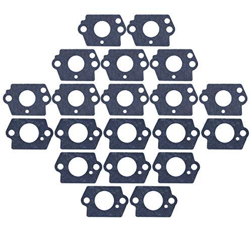 Haishine 10Pair Vergaser Dichtungssatz für Husqvarna 124L 125B 125BX 125L 125LD 128C 128CD 128L 128LD 128LDX 128R 128RJ 128DJX Trimmer