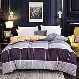 YAOYI - Piumino invernale in cotone caldo con nucleo in velluto di agnello, con imbottitura in velluto, per letto di casa, 2.220 x 240 4 kg