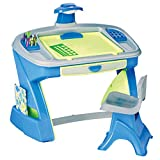 American Plastic Toys Creativity Desk and Easel,Blue,21' x 34.75' x 32.5'