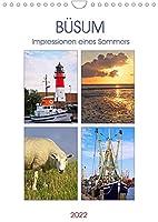 Buesum - Impressionen eines Sommers (Wandkalender 2022 DIN A4 hoch): Fotografien eines Sommers aus Buesum an der Nordsee. (Monatskalender, 14 Seiten )