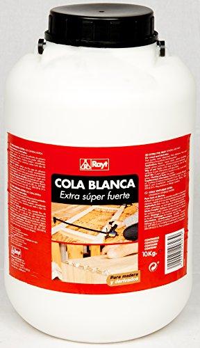 Rayt | Cola blanca extra rápida múltiples usos: madera, papel, cartón, cerámica y todo tipo de materiales porosos | 10kg | Ref. 296-28