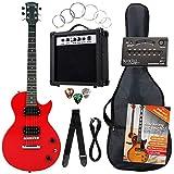 Rocktile L-Pack guitarra eléctr set rojo incl. Amp, bolsa, afinador, cable, correa, cuerdas