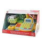 PlayGo 4892401032300 3230 - Multifunktionale Registrierkasse mit viel Zubehör und Spielgeld