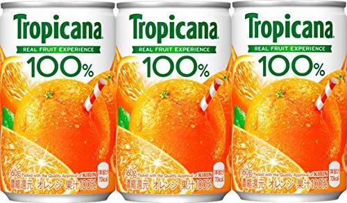 キリンビバレッジ トロピカーナ 100%ジュース オレンジ 160g 1セット(6缶)