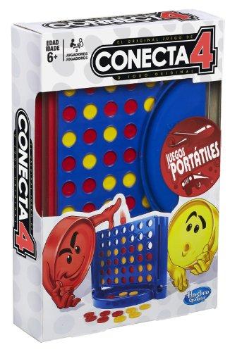 Juegos en Familia Hasbro - Conecta 4 para Viaje (A6548175)