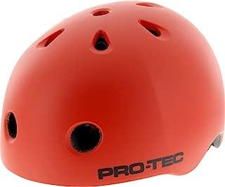 Protec Street Lite Blood Orange Xlarge Helmet Cpsc Skate Helmets