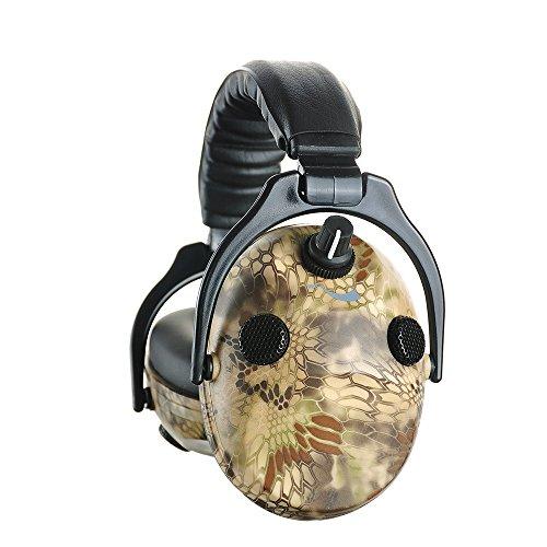 bester Test von elektronischer gehorschutz jagd Elektronische Jagd PROTEAR Gehörschutz, Geräuschreduzierung, Sicherheit, akustische Verstärkung…