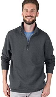 Charles River Apparel Unisex-Adult's Crosswind Quarter Zip Sweatshirt (Regular & Big-Tall Sizes)