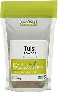 Sponsored Ad - Banyan Botanicals Tulsi Powder, 1/2 Pound - USDA Organic - Ocimum Sanctum - Holy Basil - Ayurvedic Adaptogen*