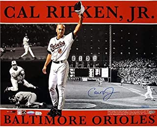 Cal Ripken Jr. Baltimore Orioles Signed 16x20 Photo Collage ~Limited Edition of 2000~ (Ironclad/MLB Authentic) - Steiner Sports Certified