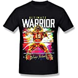 DDDF Men's Ultimate Warrior Always Believe T Shirts Black, Size - 2XL