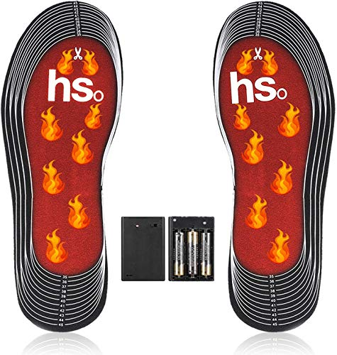 JOYTEK Electric Heated Insoles Foot Warmer for Men and Women,Heating Insoles can...
