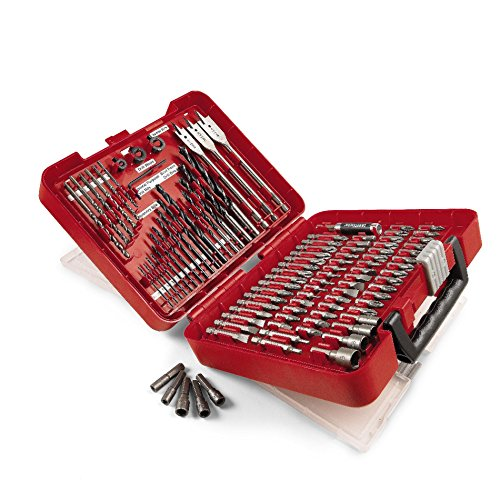 Our #1 Pick is the Craftsman 100-Piece Drilling and Driving Kit
