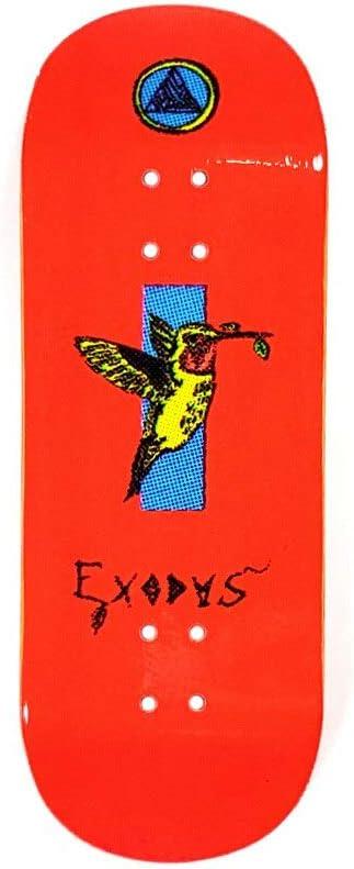 Bird Exodus Anoixi Series Fingerboard Deck Teal , 34mm