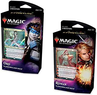 Magic The Gathering: Throne of Eldraine Planeswalker Decks - Both Decks