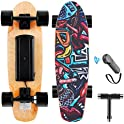 Wookrays Electric Skateboard with Wireless Remote Control