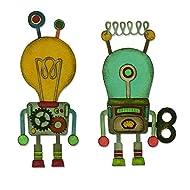 Sizzix Robotic Dies, One Size, Multicolor