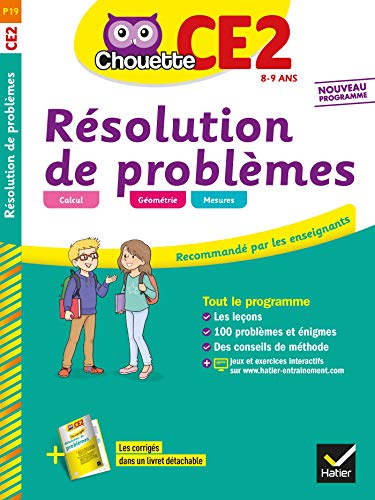Résolution de problèmes CE2