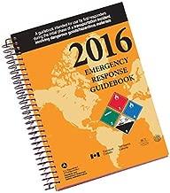 Labelmaster ERG0025 White Paper 2016 Emergency Response Guidebook, 4x6, Spiral Bound Pocket Size