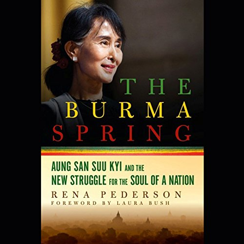 The Burma Spring audiobook cover art