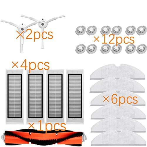Accesorios de aspiradora NUEVO Cepillo principal Lavable Fil