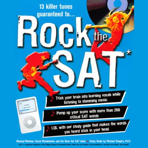 Rock the SAT audiobook cover art