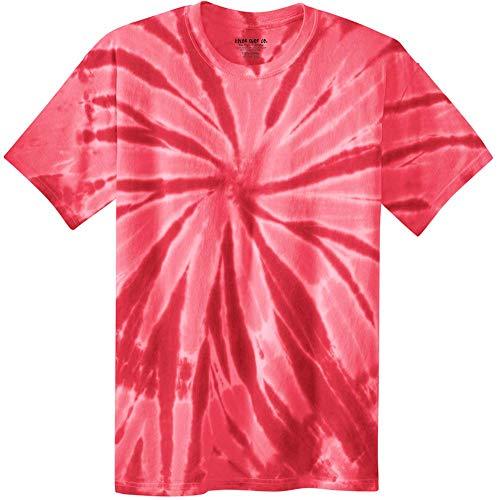 Koloa Surf Co.Colorful Tie-Dye T-Shirt,M-Red