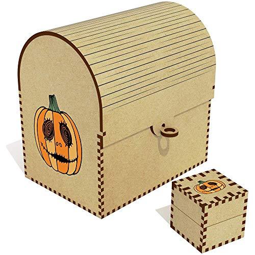 Azeeda 'Halloween-Kürbis' Groß Schatztruhe / Schmuckschatulle (TC00035692)