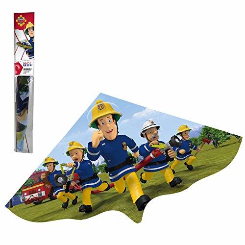 Feuerwehrmann Sam Kinder Flug Drachen aus Nylon 97 x 58 cm | Einleiner