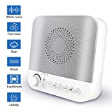 White Noise Machine for Sleeping, Portable Sound Machine with 17...