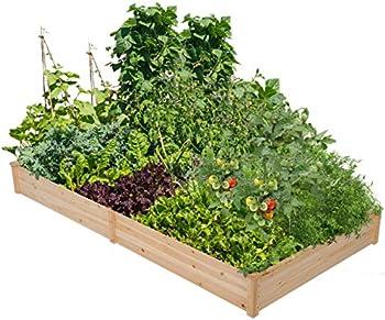 Yaheetech Wood Raised Garden Bed Boxes Kit