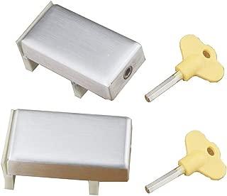 dingchi Top Quality Sliding Door & Window Locks Aluminum Alloy Plastic Steel Window Limit Door Lock Children Safety Protection Lock (2PCS)