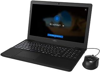 富士通 15.6型ノートパソコン FMV LIFEBOOK AH42/C2 シャイニーブラック[Celeron/メモリ 4GB/HDD 1TB/Office H&B 2016]※2018年夏モデル FMVA42C2B